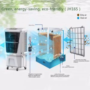 Good Price Standing Portable Axial Humidity Control Air Cooler Water Jh165 pictures & photos