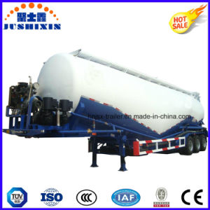 3 Axle 45cbm Bulk Cement Tanker Truck Semi Trailer pictures & photos
