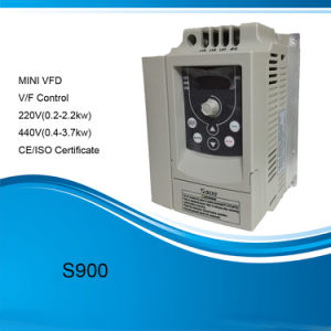 Mini Compact Size 1.5kw AC Variable Voltage Variable Frequency Drive pictures & photos