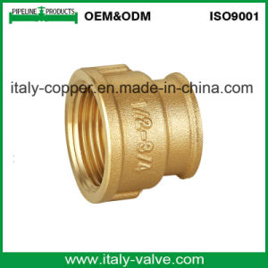 Certified Quality Forged Brass Reducer Coupling (AV-BF-7037) pictures & photos