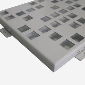 2017 Interior Decorative Sheet Aluminum Perforated Panels pictures & photos