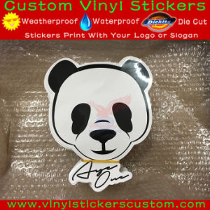 Waterproof Die Cut Logo Custom Vinyl Sticker for Advertising pictures & photos