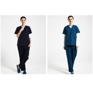 Medical Surgery Wear Medical Uniform High Protection Scrub of 100%Cotton pictures & photos