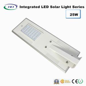 25W PIR Sensor Integrated LED Solar Garden Light pictures & photos
