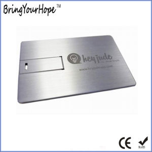 Aluminium Metal Credit Card USB (XH-USB-012M) pictures & photos