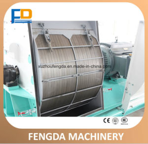 Reasonable Price Grain Corn Wheat Straw Rice Husk Hammer Mill Grinder Machine, Corn Hammer Mill pictures & photos