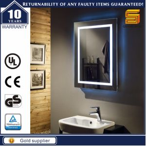 UL Approved Bathroom Lighted Illuminated LED Mirror with Bluetooth pictures & photos