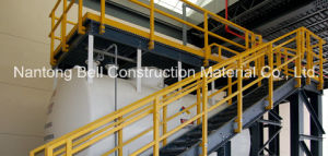 FRP Guardrail, Handrail, Fiberglass Handrail and Fencing System pictures & photos