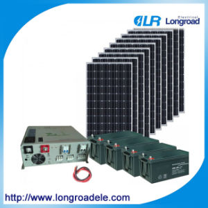 10kw Home Solar Power System, Portable Solar Power Generator pictures & photos