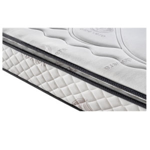 Memory Foam Mattress with Zipper Bamboo Fabric Cover pictures & photos