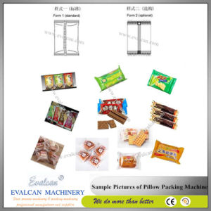 Biscuit Pillow Bag Wrapping Machine pictures & photos