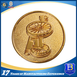 Custom 2D Gold Plated Souvenir Coin for Promotion (Ele-C211) pictures & photos