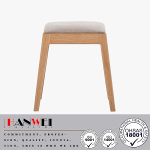 Oak Solid Wood Dressing Stool Wooden Furniture pictures & photos