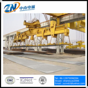 High Temperature Steel Plate Handling Magnet for Crane Installation MW84-26035L/2 pictures & photos