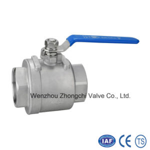 2PC Inside Thread Full Bore Floating Ball Valve pictures & photos