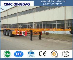 Cimc 2/3 Axle 40FT Container Skeleton Chassis Semi Truck Trailer Tractor Semi-Trailer pictures & photos