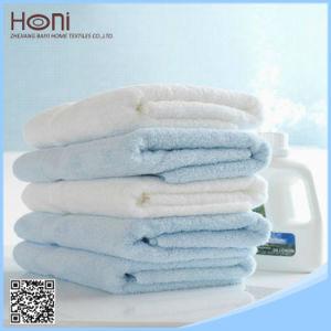 100% Cotton Plain Bath Towel, White Bath Towel pictures & photos