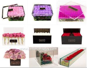 Custom Luxury Acrylic Rose Box pictures & photos