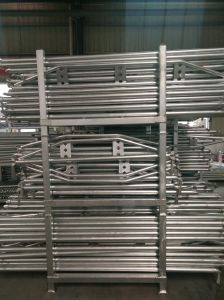Galvanized Ringlock Scaffolding Truss Ledger pictures & photos