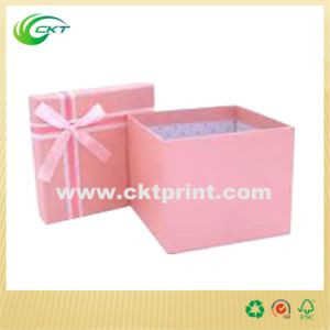 Practical Cardboard Gift Box with Pms Pink (CKT-CB-316) pictures & photos