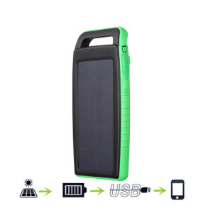 10000mAh Solar Power Banks Mobile Accessories with LED Lights