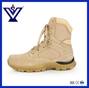 Ventilate High Combat Tactical Military Boots Hiking Outdoor Shoes (SYSG-052) pictures & photos