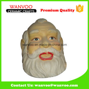 Hand Painted Outdoor Ceramic Santa Claus Statue for Christmas Ornament Gift pictures & photos