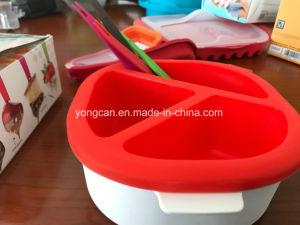 Plastic Silicone Chocolate Fondue Container/Box/Untensil