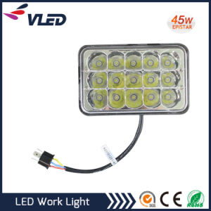 Auto off Road 45W Epistar LED Work Light, LED 12V / 24V 4WD Working Light Flood Lamp Truck Car Boat Bar 4X4 pictures & photos