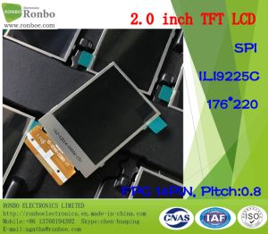 "2.0"" 176*220 Spi 14pin Wide Viewing Angle TFT LCD Screen pictures & photos"