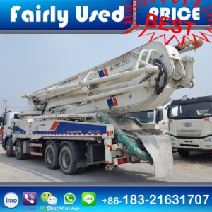 Used 8X4 Zoomline Concrete Pump Truck with Benz Chaissis pictures & photos