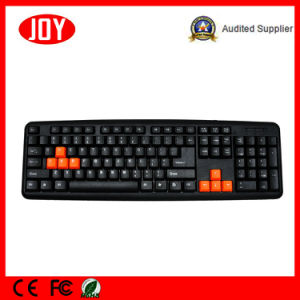 USB Wired Waterproof Djj2117 for PC Notebook Laptop Gaming Keyboard pictures & photos