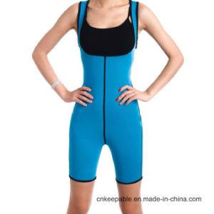 Women Neoprene Waist Trainer Sweat Body Shaper Bodysuit pictures & photos