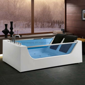 (K1258) Freestanding Acrylic Bathtubs / Massage Whirlpool Bathtubs pictures & photos
