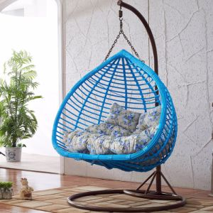 2017 Double Swing Rattan Furniture, Rattan Basket (D152A) pictures & photos