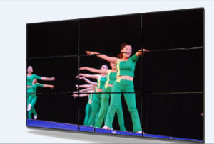 46inch LCD Display Vidoe Wall for Advertising Playing P4655 pictures & photos