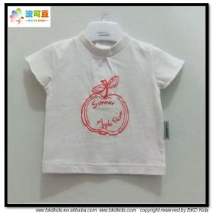 White Color Baby Wear OEM Service Babies Shirts pictures & photos