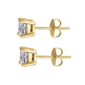 New Screw 6 mm Stud Earring