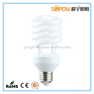 Half Spiral 18W T3 CFL Light Energy Saving Lamp pictures & photos
