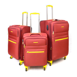 Chubont Waterproof 3PCS Wheeled Travel Trolley Case pictures & photos