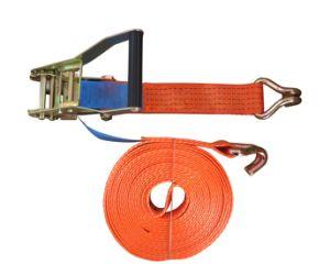 10m 5t Ratchet Tie Down Ratchet Lashing Strap pictures & photos