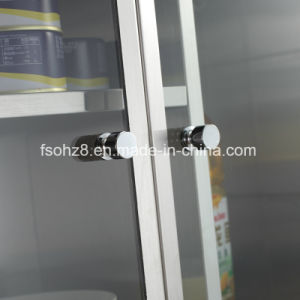 High-End Customized Stainless Steel Furniture Storage Cabinet (Ymt-7034) pictures & photos