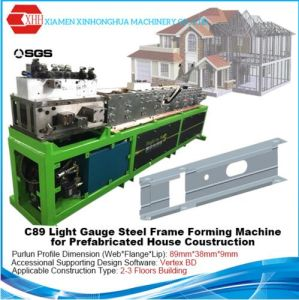 Light Steel Structure Villa Forming Machine pictures & photos