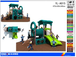 Outdoor Kids Trian Plastic Playground Equipment (YL-A015) pictures & photos