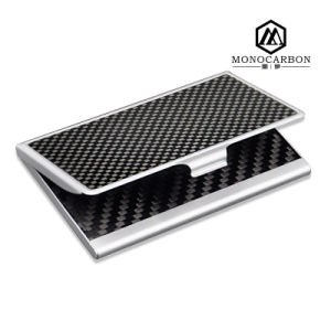 100% Carbon Fiber Business Card Case with Name Card Holder Set pictures & photos