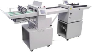 Automatic Paper Folder and Creaser Machine HS370 pictures & photos