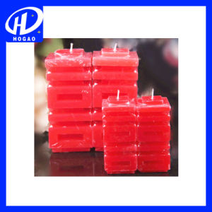Collections 3 Pillar Candles Value Pack, Red pictures & photos