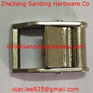 Carbon Steel Nickel Plated Fiber Belt Buckle pictures & photos