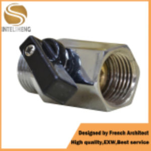 High Performance Mini Ball Valve with Chrome pictures & photos