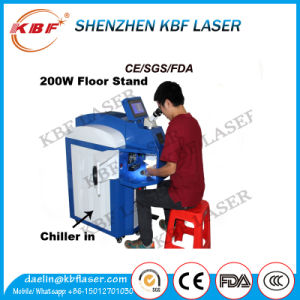 200W Spot Jewelry Laser Welding Machine Jewelry Repairing Laser Welder for Gold Silver Copper pictures & photos